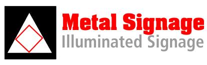 metal signage logo - Shop Front Signage